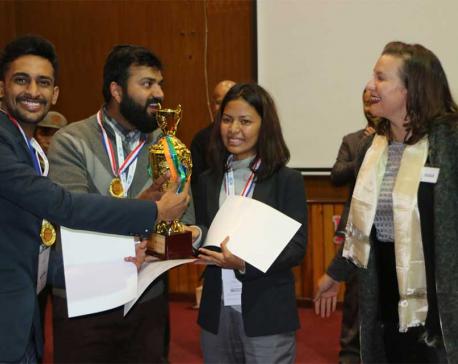 2018 Hult Prize at Kathmandu University