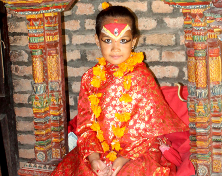 Bhaktapur Kumari gets Rs 3,000 monthly salary