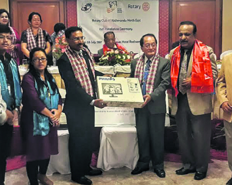 Kumari Bank Ltd equips Nawalparasi schools