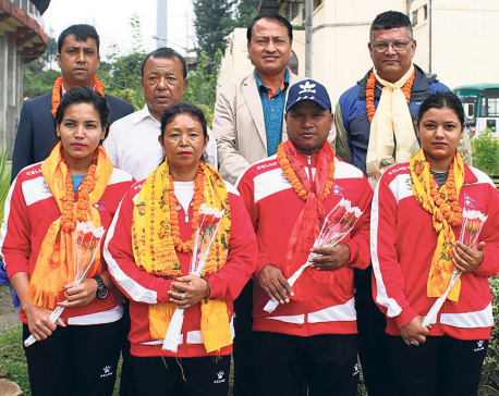 Nepal shooting team hopes to reach final round at Asian Games