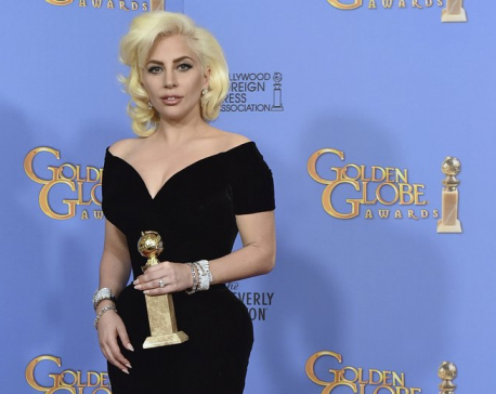 Gaga, 'A Star Is Born' poised to dominate Golden Globes