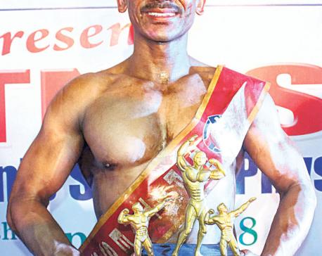 Lagun lifts fitness title