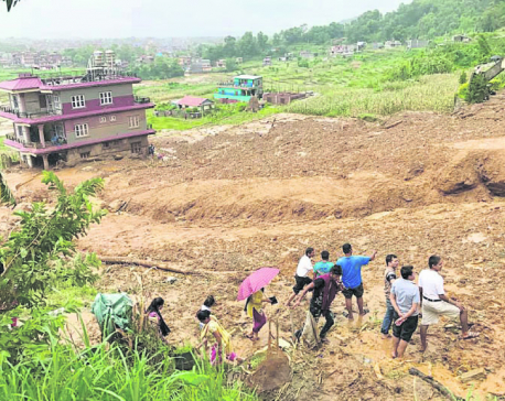 Five including three from same family killed in landslides