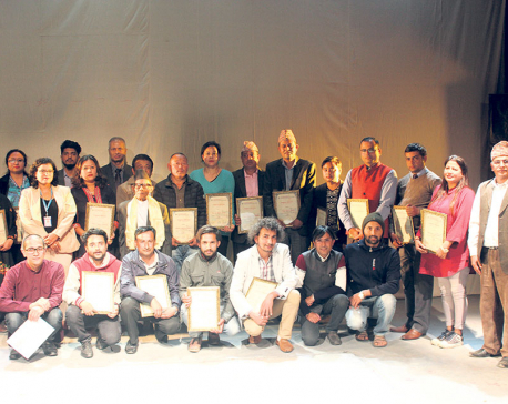 Laxman Wins First National Solo Theatre Competition