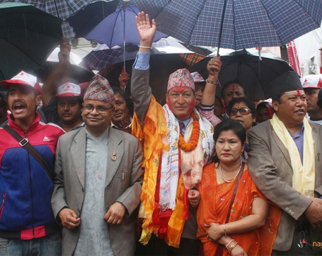 UML stages victory rally in KMC (photo feature)