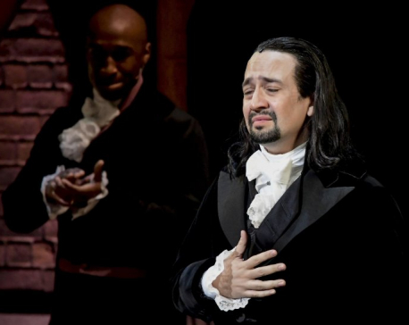 Hamilton's star reprising role in Puerto Rico to raise funds