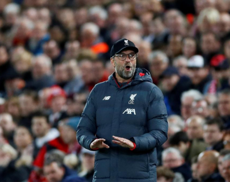 Klopp not angry as Liverpool escape after loss of focus