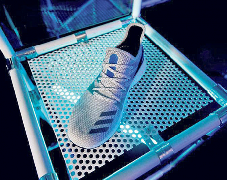 London starting line as Adidas laces up robotic shoe run