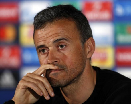 Luis Enrique unconcerned by Barca's poor record at Sociedad