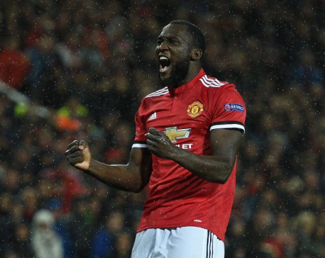 Lukaku opens account as United cruise past Basel