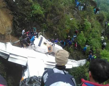 Co-pilot succumbs to injuries, air hostess airlifted to KTM