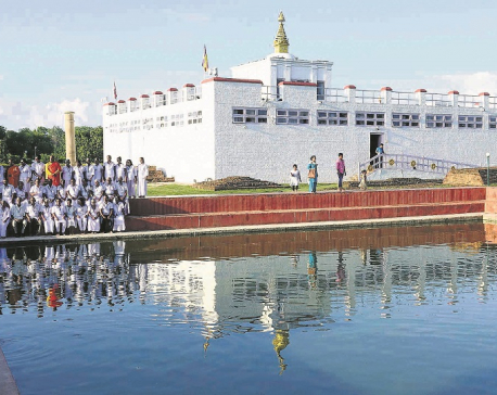 1.3m tourists from 113 nations visit Lumbini