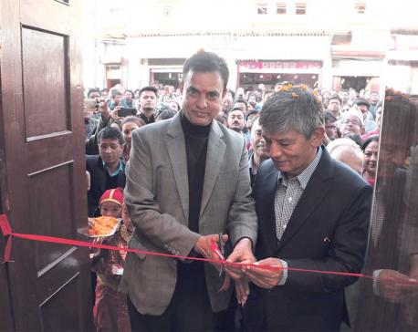 JJ Jewellers opens showroom at Basantapur