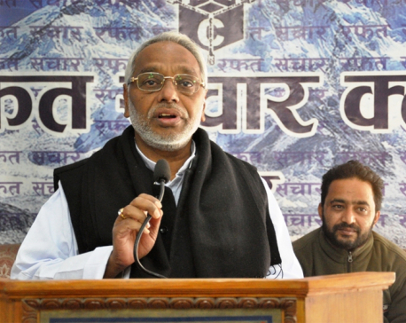 No one bold enough to hold polls: Mahato