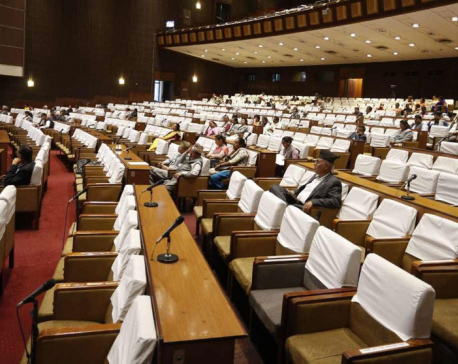 Is Parliament discussing budget? (photo feature)