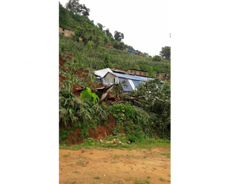 One dead as house collapses in Nuwakot, five other houses buried