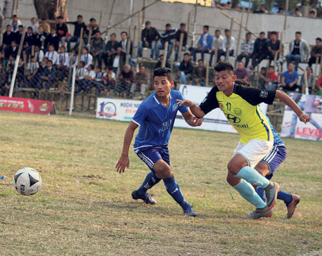 Manang to face Tribhuvan Army Club in Kakarbhitta final