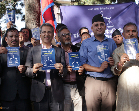 Bibeksheel Sajha publicizes political manifesto