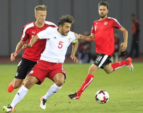 Austria striker Janko doubtful for Wales, Serbia qualifiers
