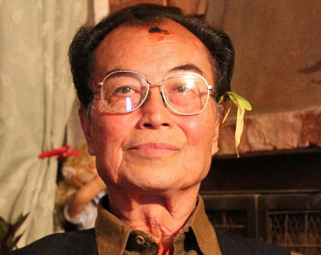Democratic  fighter Marshal Julum Shakya passes away
