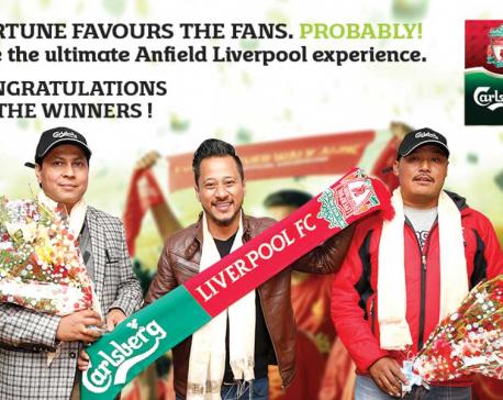 Carlsberg sending three lucky draw winners to Liverpool