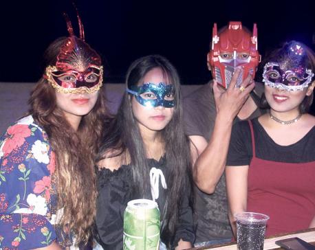 Mask Party at Fusion