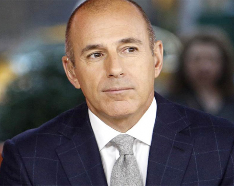 Matt Lauer is fired at NBC, accused of crude misconduct