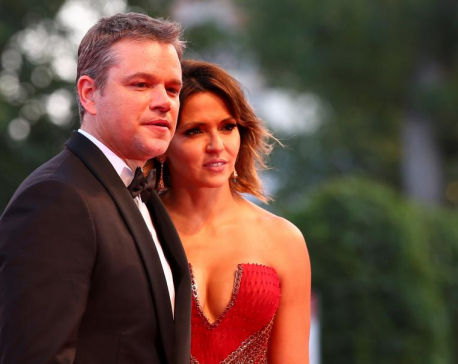 Shrunken Matt Damon opens 74th Venice film festival