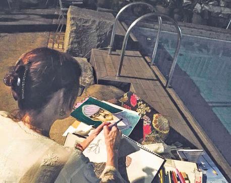 Maura's love for Kathmandu on display