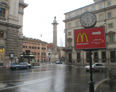 Plans to open McDonald's in Vatican city spark outrage