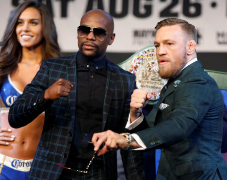 McGregor and Mayweather trade praise not profanities