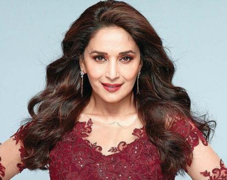 Madhuri Dixit turns producer for Marathi film