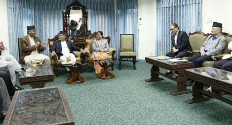 Speaker-bigwigs meet ends inconclusively