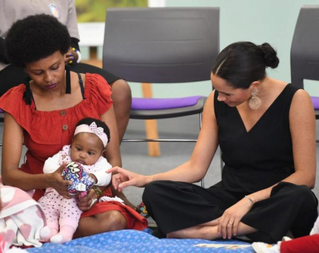 Meghan Markle donates baby Archie's clothes to South Africa charity