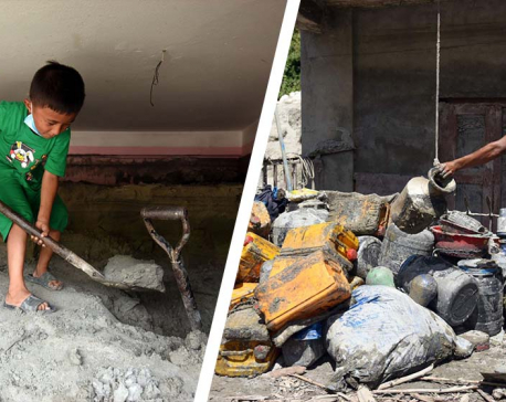 Melamchi tries to rise from flood residue (photo feature)