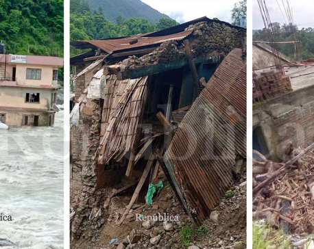 Sindhupalchowk and Manang districts declared disaster-hit zones