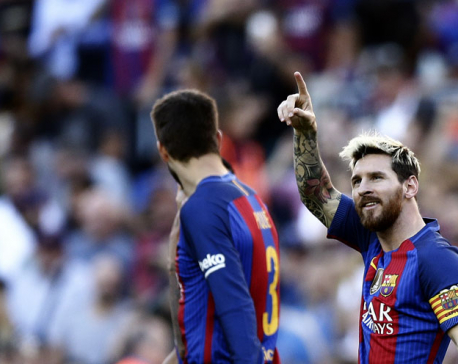 Messi on target as Barca beat Deportivo on high-scoring day