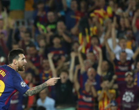Magical Messi leads Barca rout of Juventus