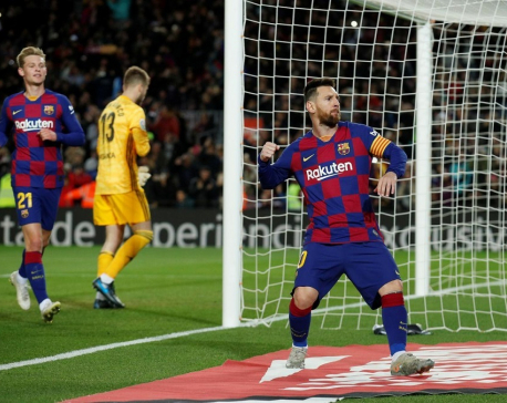 Messi gives set-piece masterclass as Barca crush Celta