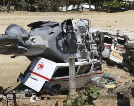 Children among 13 killed in Mexico earthquake helicopter crash