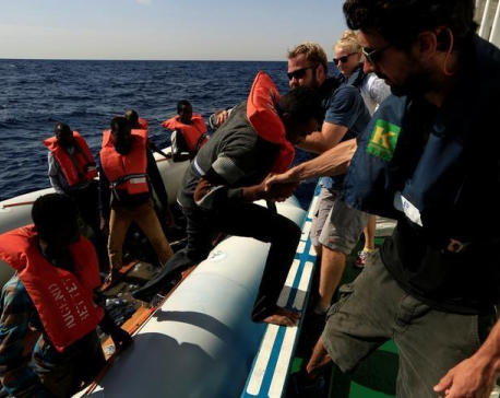 More than 6,000 migrants plucked from sea in a single day, 22 dead