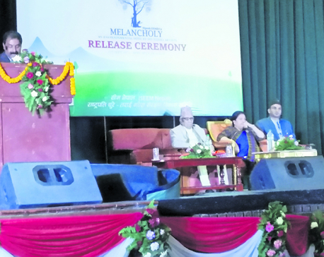 National poet Madhav Prasad Ghimire turns singer