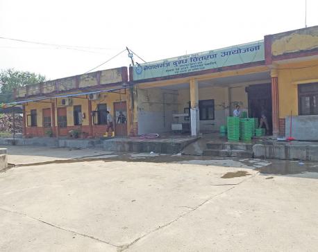 Low storage facility hits Nepalgunj milk project