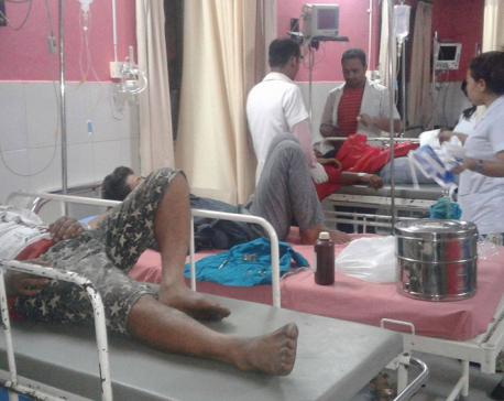 4 killed, 20 injured in Morang bus mishap