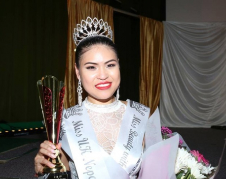 Tenisha Rana crowned Miss UK Nepal-2016