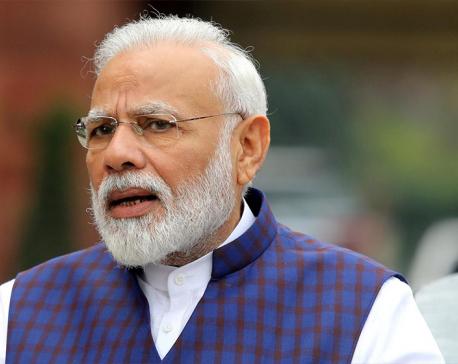 Indian PM Modi congratulates Deuba over telephone