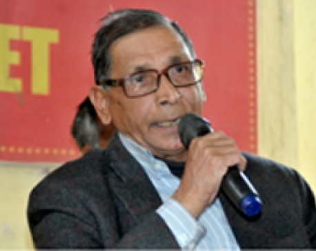Baidya insists on radical change in constitution