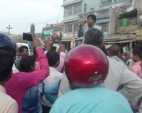 Locals are in fear of possible violence in Garuda