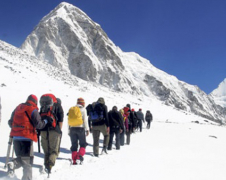 465 climbers get permission to scale 11 mountains this spring season