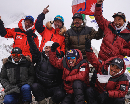 10 Nepali mountaineers scale Mount K2, setting record to conquer world's second highest peak in winter